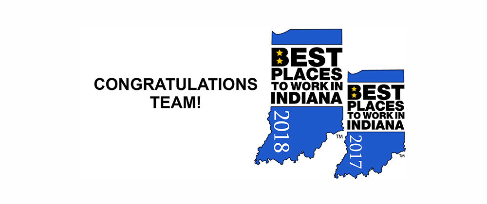 Best Places to Work Banner Congrats Team