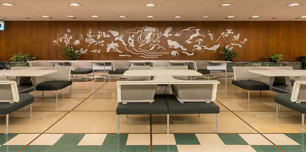 PULilly Project Highlight: lobby tables