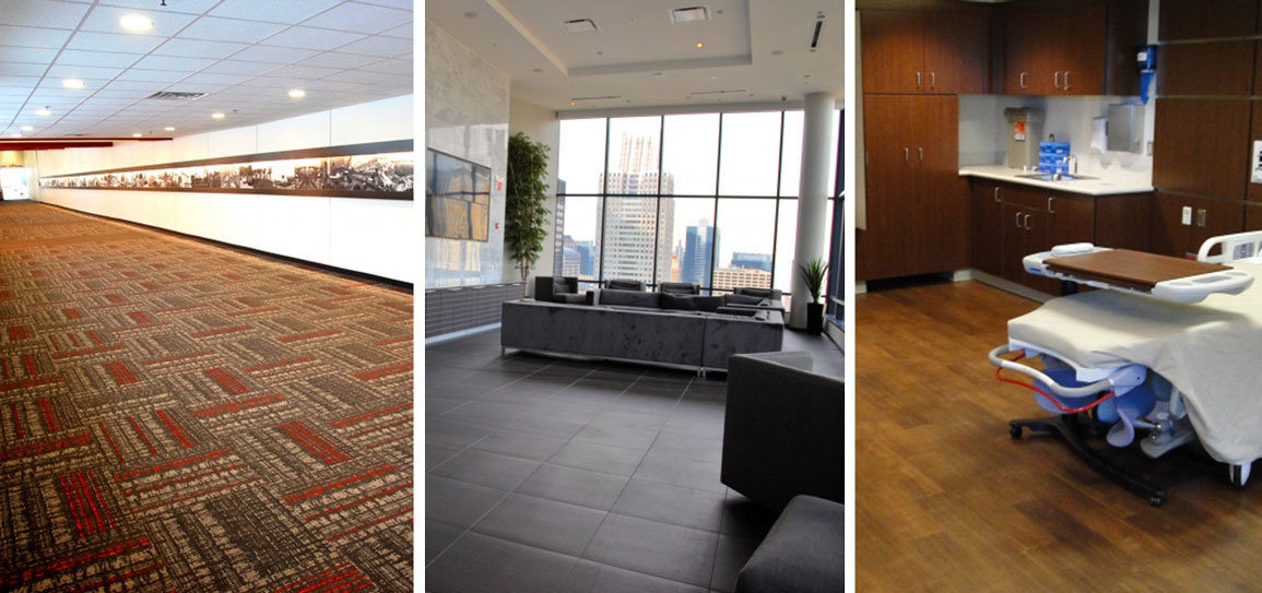 Flooring solutions collage for news page