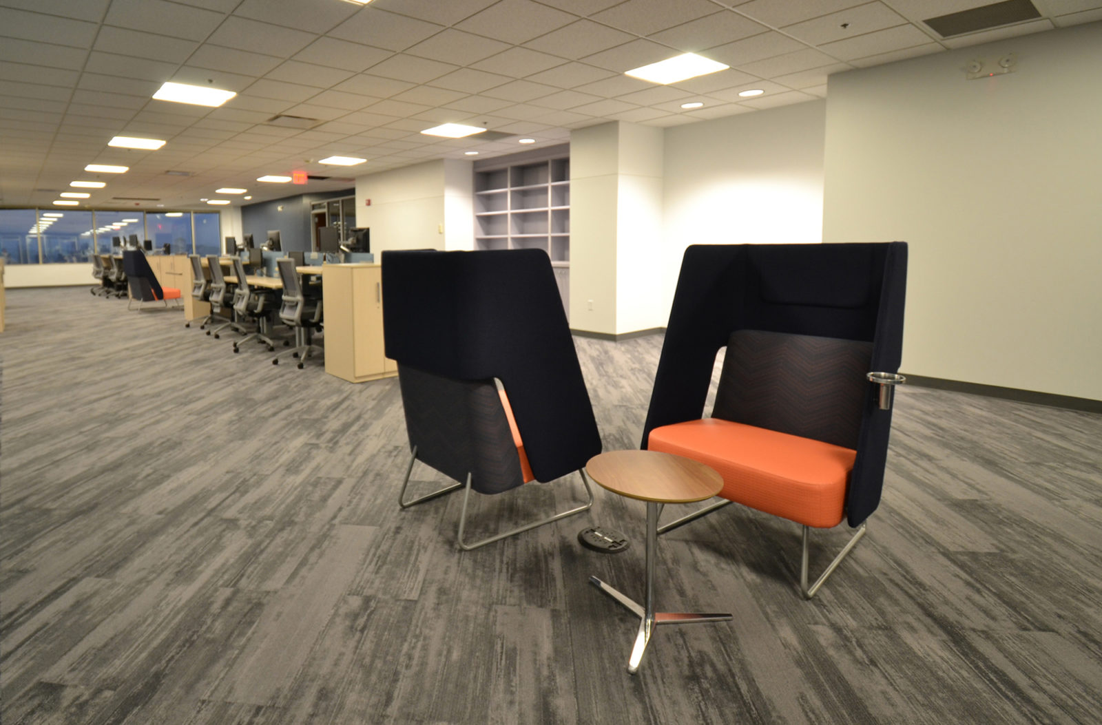 Prof. Services Firm Project Highlight: lounge conversation chairs