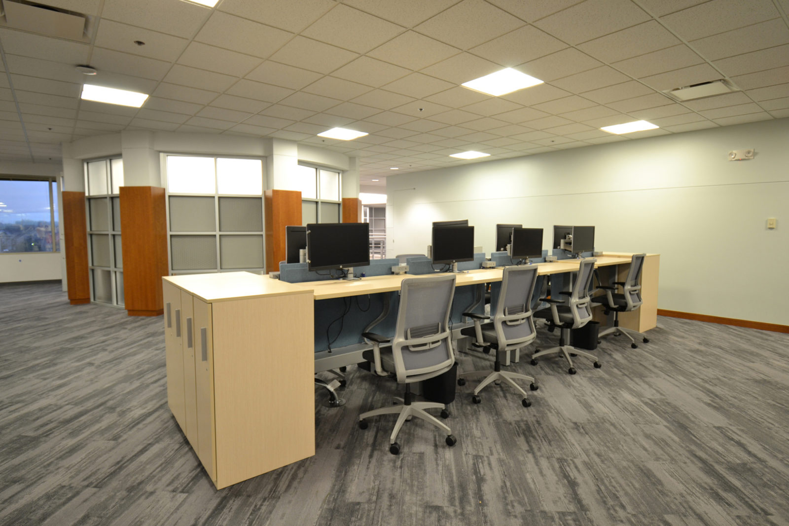 Prof. Services Firm Project Highlight: sit to stand desks