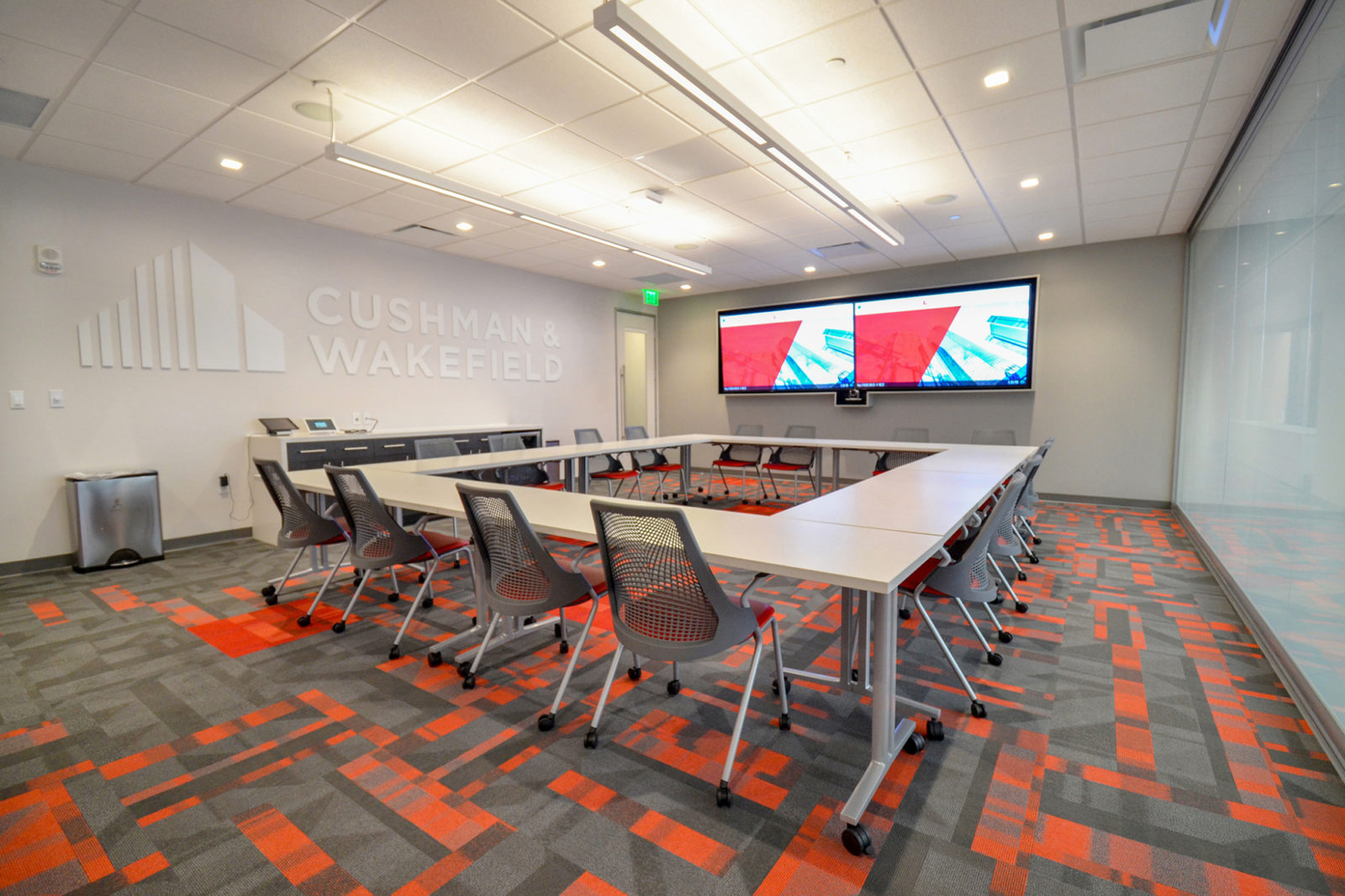 CW Project Highlight: large conference room