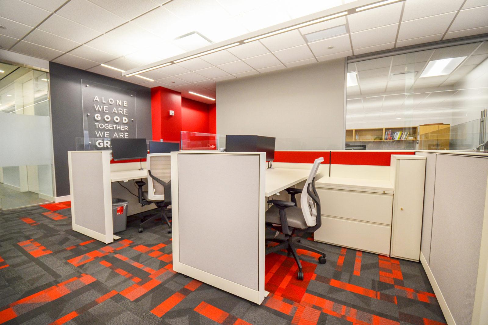 CW Project Highlight: desks