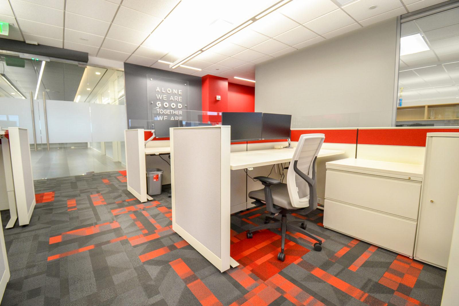 CW Project Highlight: employee desks