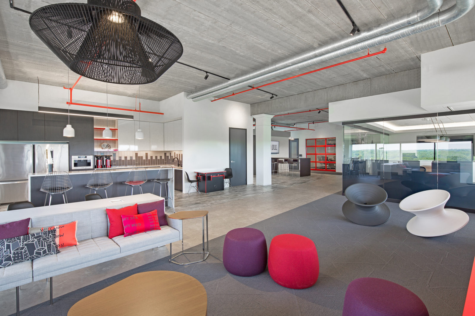 JLL Project Highlight: kitchen and lounge area