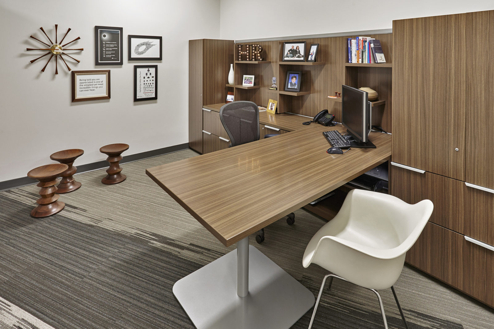 OW Showroom/Office: private office