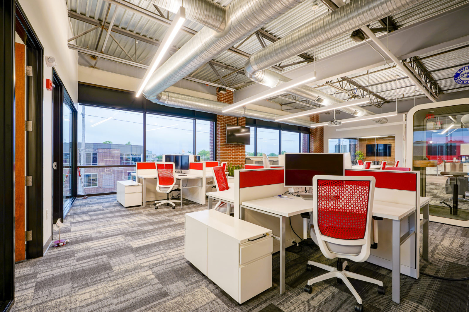 Trueblood Real Estate new office space provided by OfficeWorks