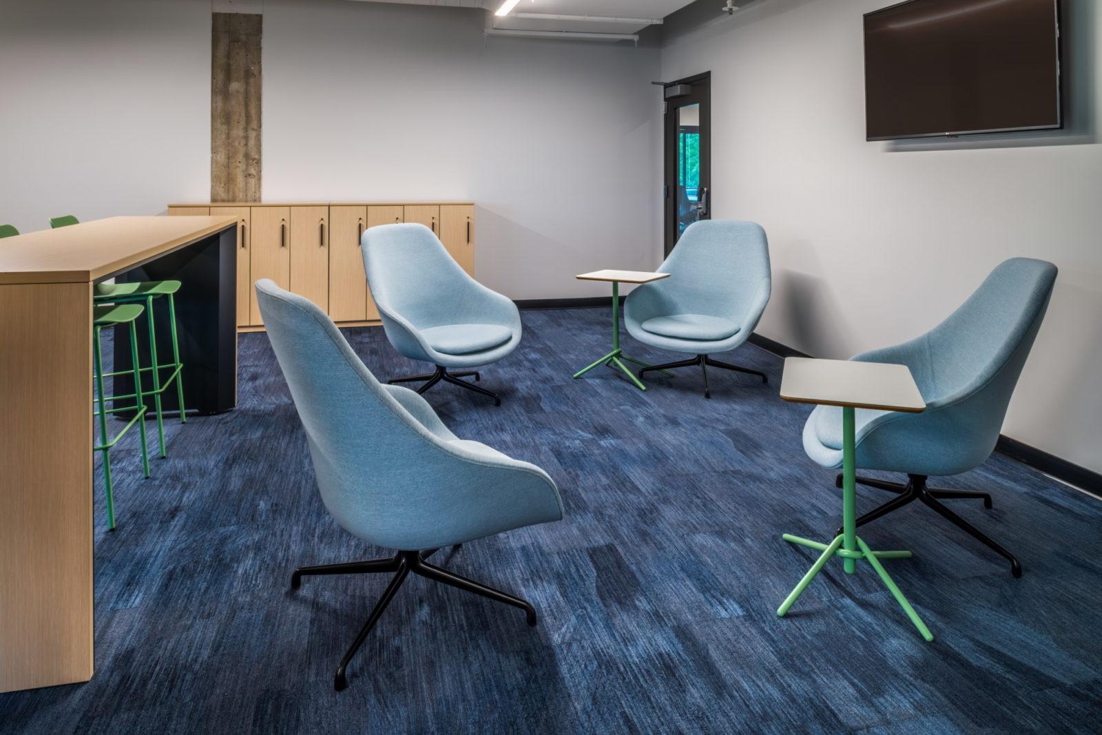 16 tech headquarters breakout room