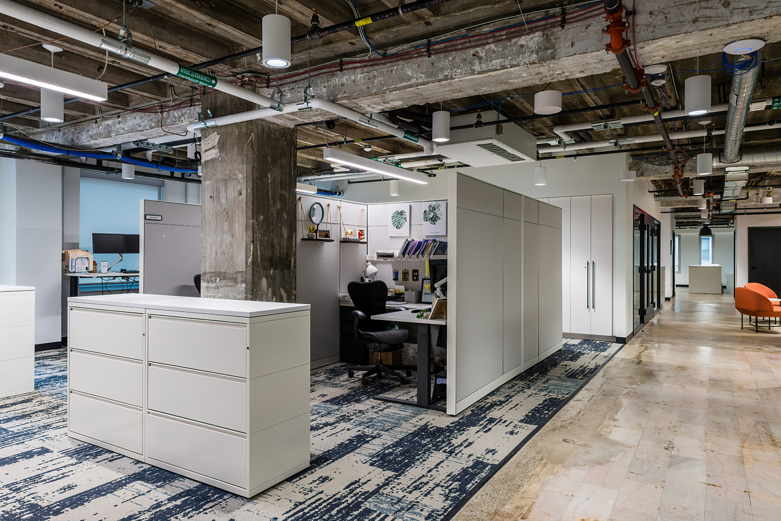 IBJ Project Highlight: private desk area