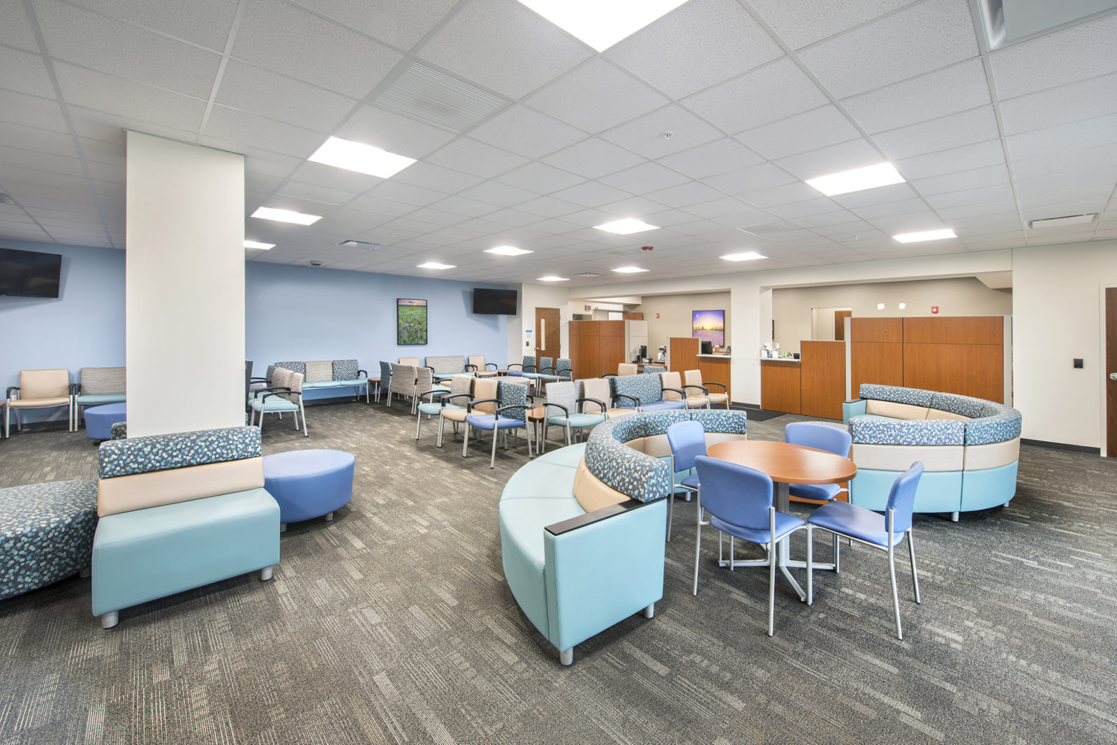 Healthcare Project Highlight: waiting room