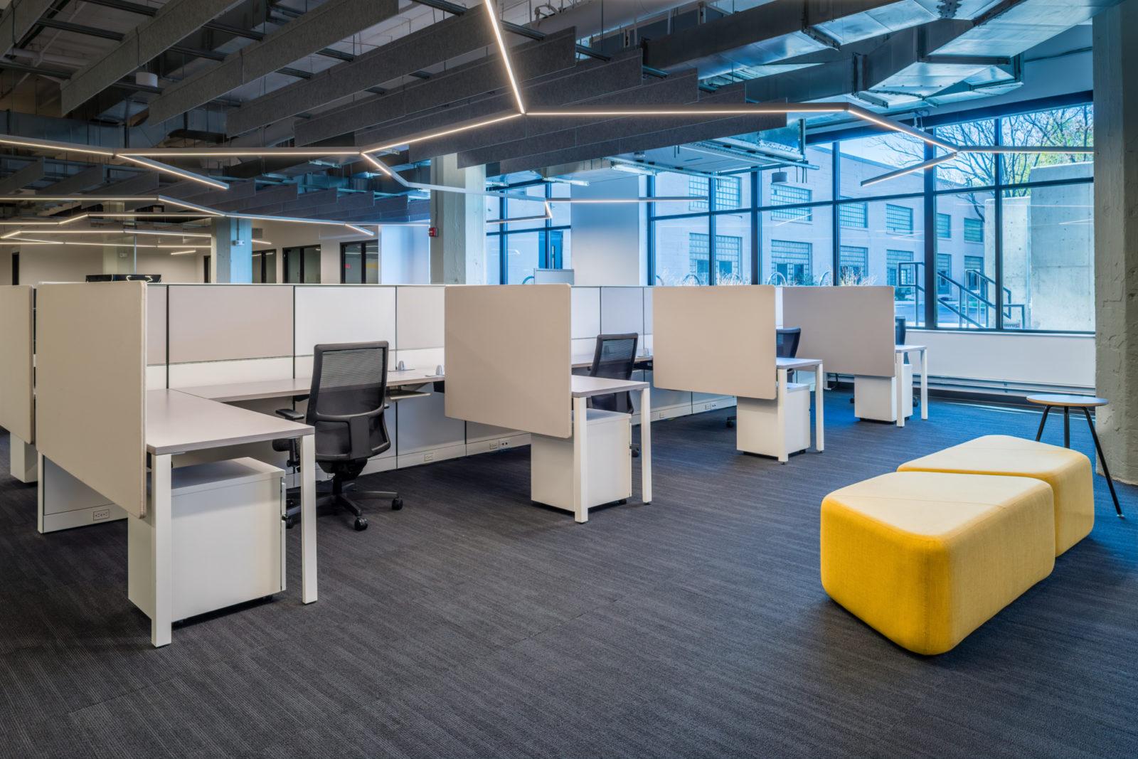 TWG desk cubicles