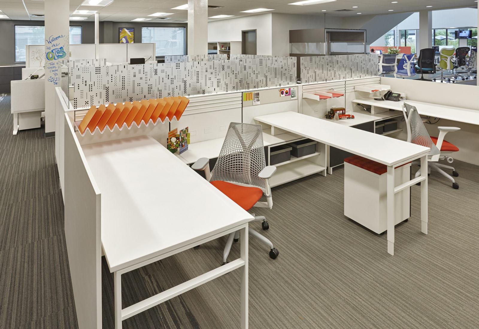 OW Showroom/Office: desk stations