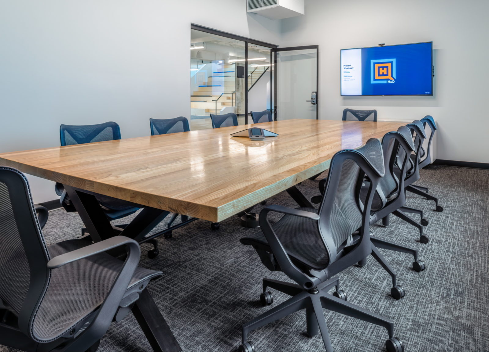 16 tech headquarters conference room