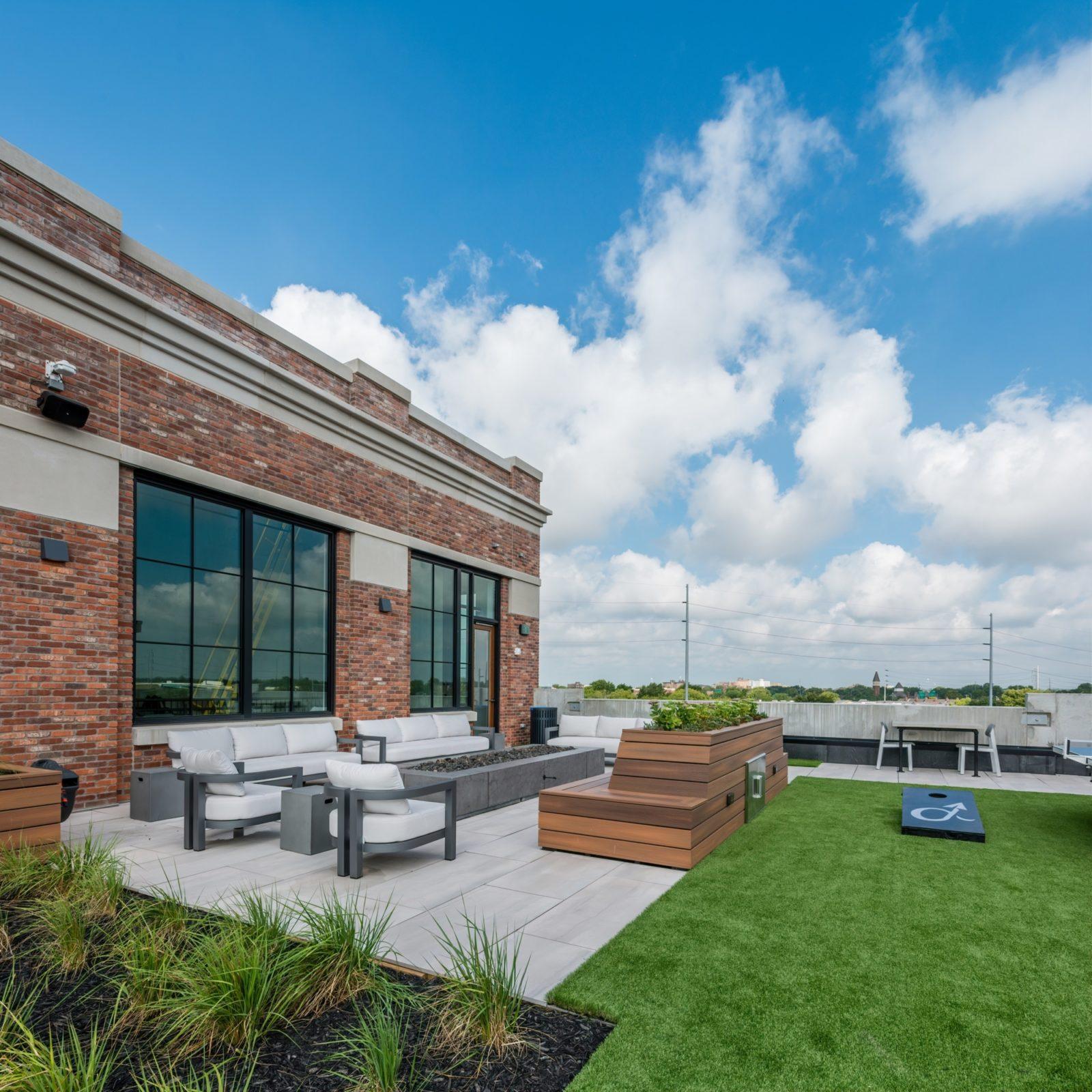 high alpha outdoor space