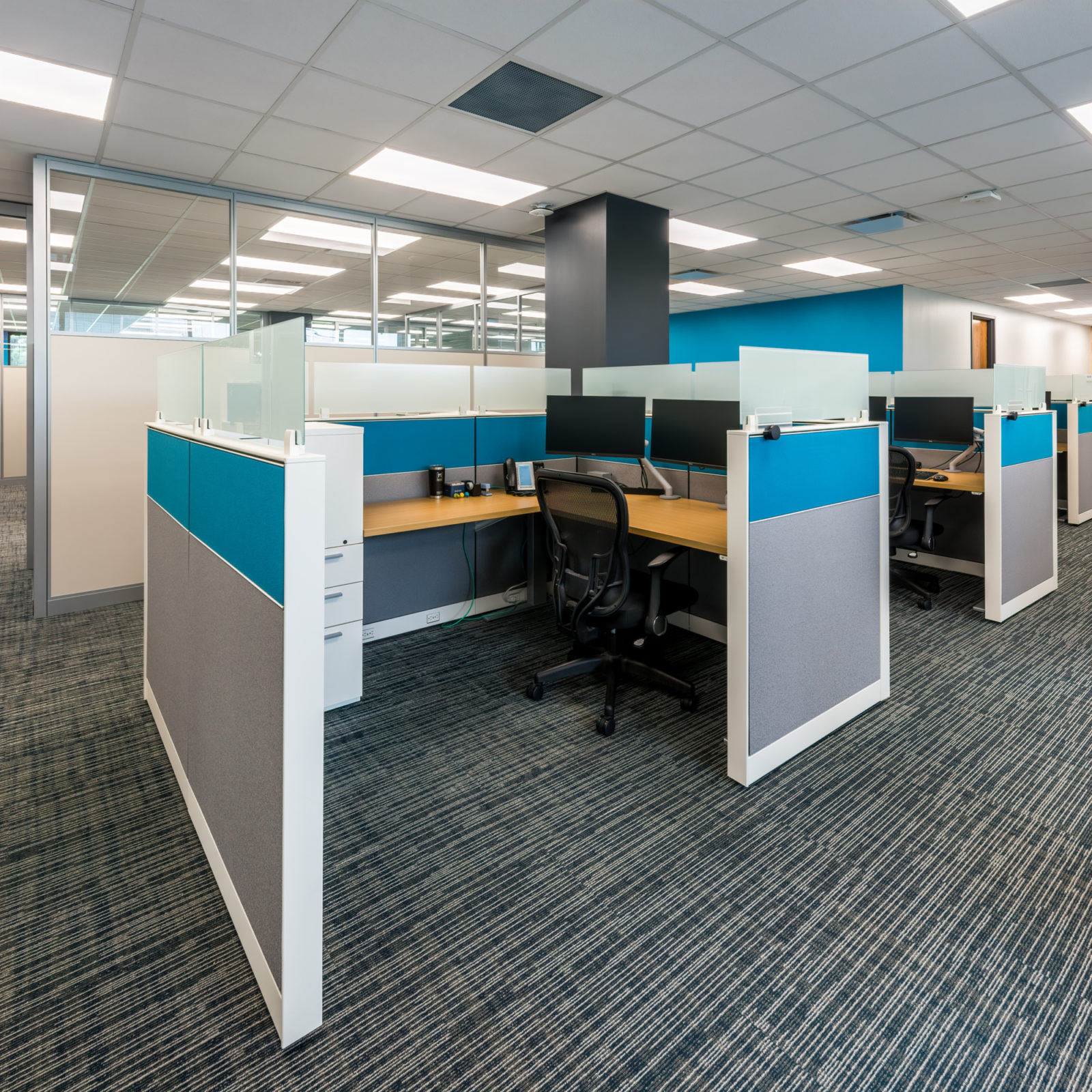 NAMIC office headquarters renovation cubicles