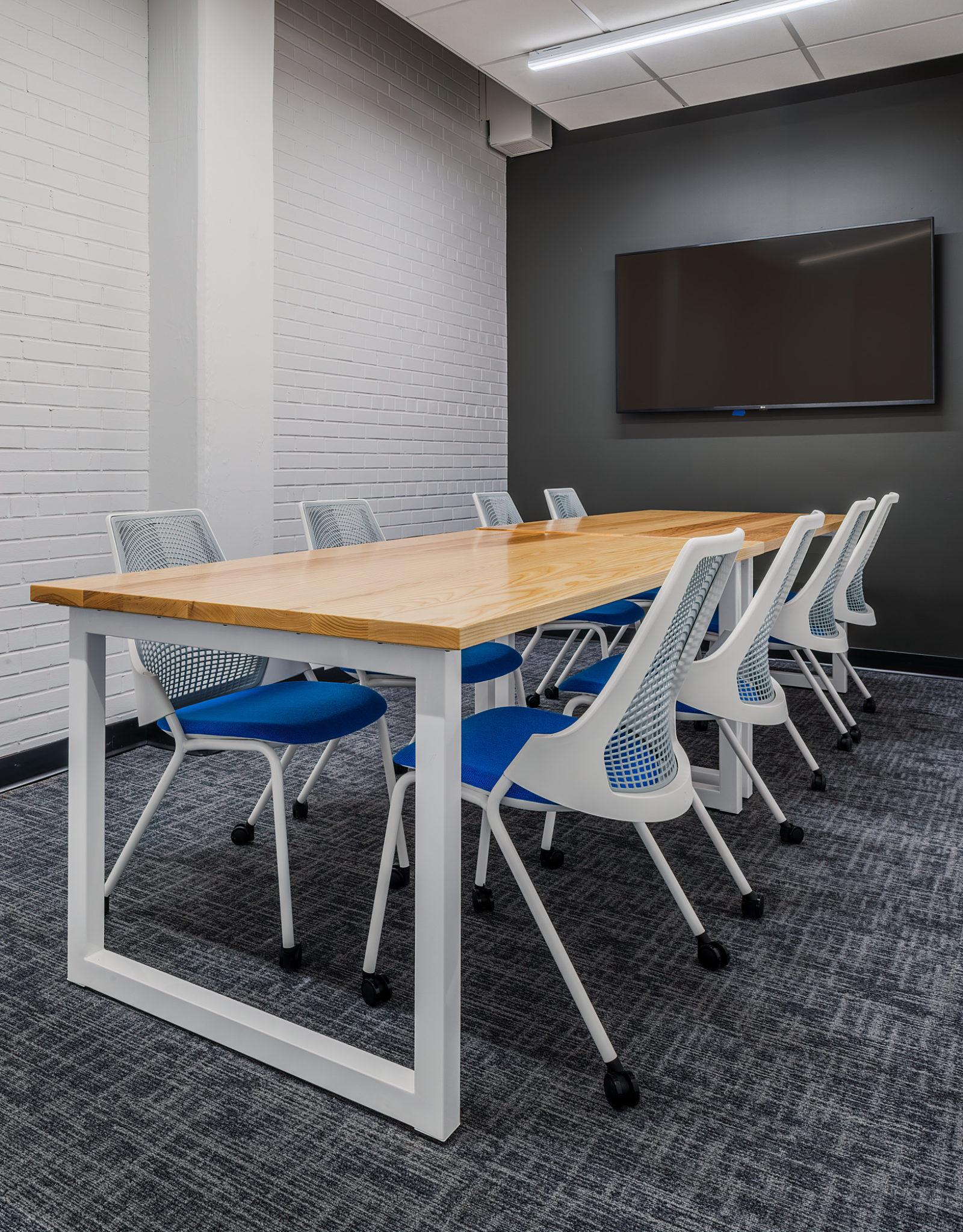 16 tech headquarters conferene table