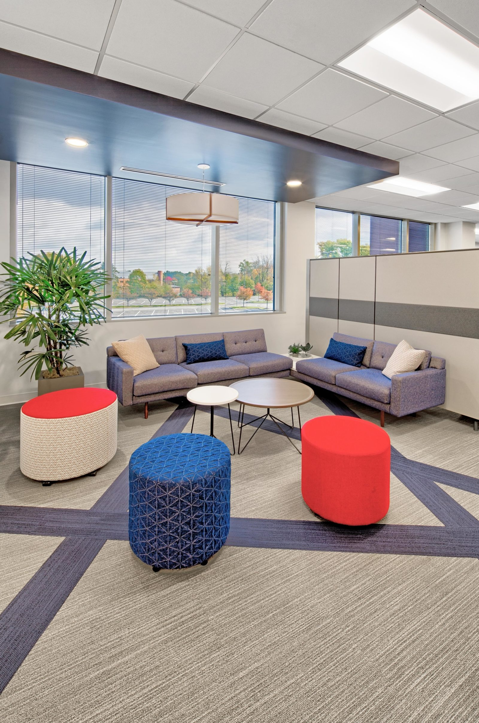 INCPAS Project Highlight: Open seating area with windows