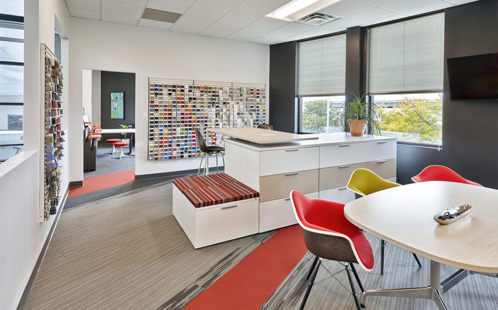 OW Showroom/Office: library for personal consultation
