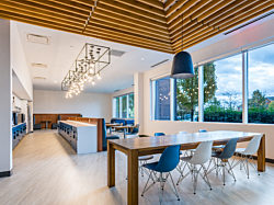 Dynamic work environment at an energy company with Herman Miller furniture by Officeworks