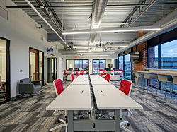Trueblood Real Estate new general office area provided by OfficeWorks
