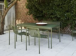 OfficeWorks Hay Outdoor Table and Chairs in green
