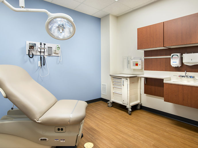 Healthcare Project Highlight: exam room