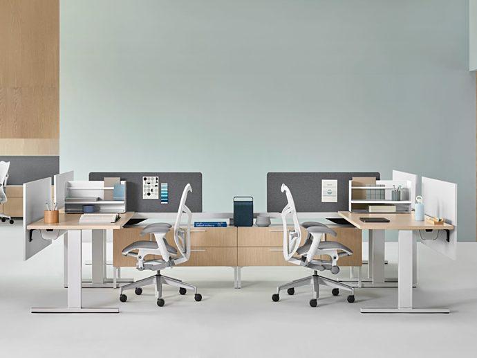 COVID solutions social distancing desks