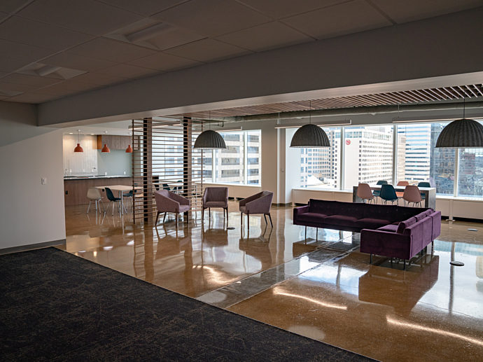 Lev Project Highlight: Open entryway wide view