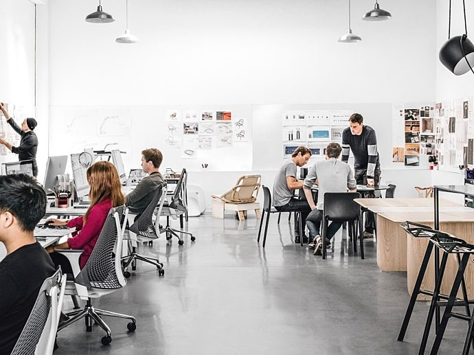 small businesses collaborative space