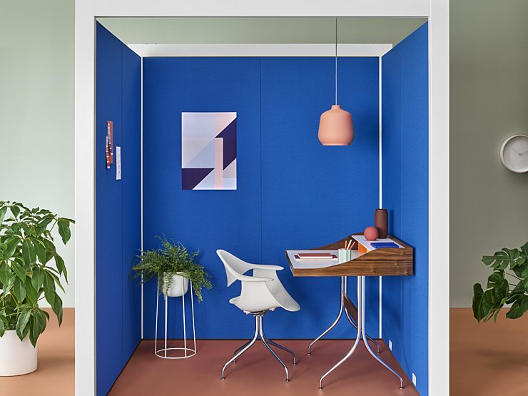 Maharam exclusive collection, desk and office space