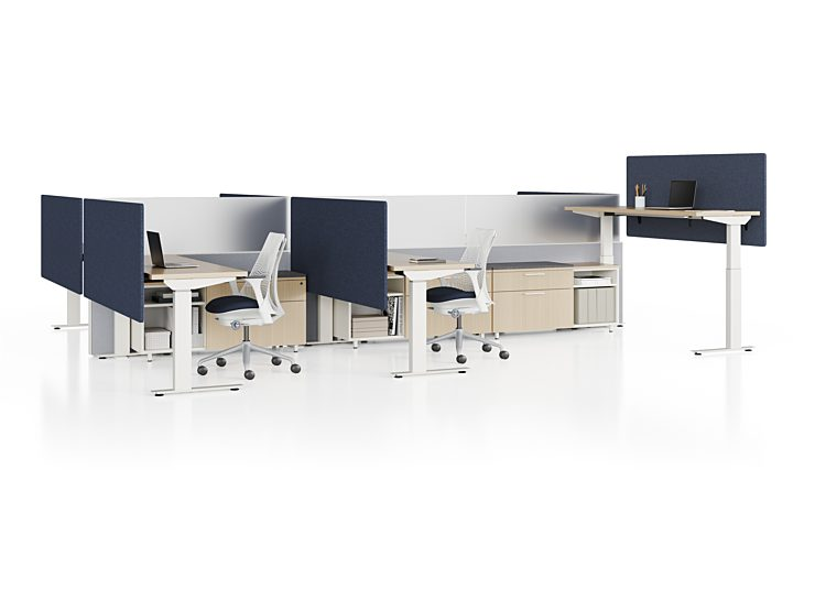 COVID solutions social distancing stand up desks