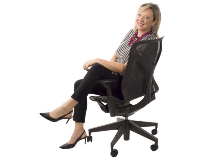 Jackie Wilson Headshot in Chair