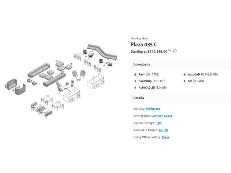 herman miller planning tools layout