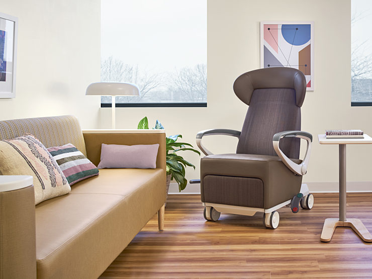 Nemschoff Paitent and Treatment couch and chair