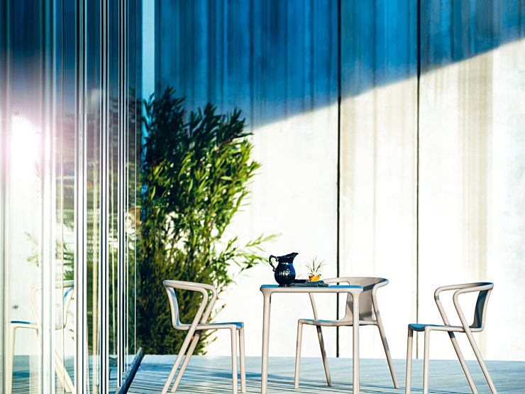 Magis Outdoor Collection Chairs