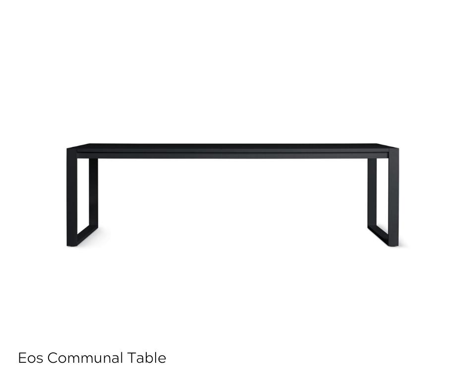 OfficeWorks - EOS Communal Table in Black