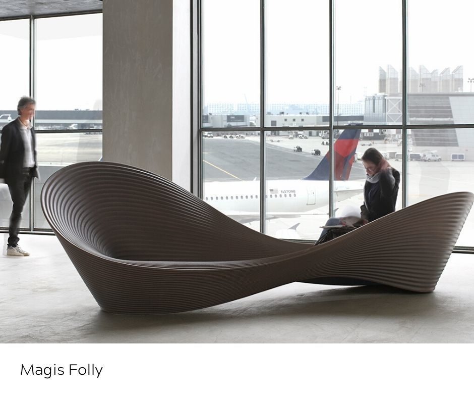 OfficeWorks - Magis Folly Seating Airport