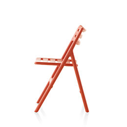 Red Magis Folding Air-Chair, viewed from the side