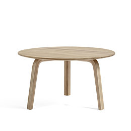 Oak Bella Coffee Table, viewed from the front.